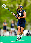 1 May 2010: University of New Hampshire Wildcat midfielder Ilana Cohen, a Sophomore from Andover, MA, in action against the University of Vermont Catamounts at Moulton Winder Field in Burlington, Vermont. The visiting Wildcats defeated the Lady Catamounts 18-10 in the last game of the 2010 regular season. Mandatory Photo Credit: Ed Wolfstein Photo