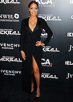 NEW YORK CITY, NY, USA - OCTOBER 30: Lala Anthony arrives at the 11th Annual Keep A Child Alive Black Ball held at the Hammerstein Ballroom on October 30, 2014 in New York City, New York, United States. (Photo by Celebrity Monitor)