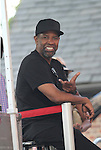 Oscar Award Winner Denzel Washington Attends he 4th Annual R&B Fest 2012 Eric Benet, Salt-n-Pepa, Christopher Williams, Kenny Lattimore, Q Parker, DJ DWIZ Presented in Association with: Globe Star Media and WBLS held at SummerStage Central Park, NY 8/12/12