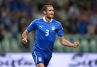 Fussball International  WM Qualifikation 2014   10.09.2013 Italien - Tschechien Jubel Italien;  Giorgio Chiellini