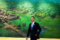 Barack Obama participates in the ASEAN-United States Leaders' Meeting - Cambodia