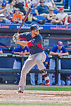 8 March 2015: Boston Red Sox infielder Deven Marrero (center) in Spring Training action against the New York Mets at Tradition Field in Port St. Lucie, Florida. The Mets fell to the Red Sox 6-3 in Grapefruit League play. Mandatory Credit: Ed Wolfstein Photo *** RAW (NEF) Image File Available ***