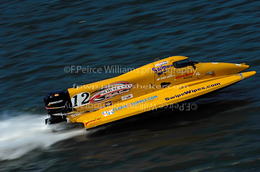 Brian Normand's Hoffman/Mercury.Champ Boat Series Grand Prix of Augusta, Augusta, GA USA  May, 2007 ©F. Peirce Williams 2007..F. Peirce Williams .photography.P.O.Box 455 Eaton, OH 45320 USA.p: 317.358.7326  e: fpwp@mac.com..