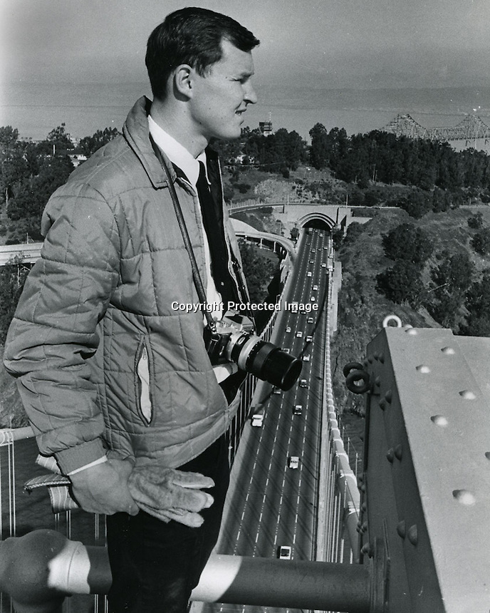 Ron atop the Bay Bridge