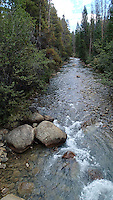 NWA Democrat-Gazette/FLIP PUTTHOFF <br /> Colorado bike trails  September 2015   often follow water. The bike path to Keystone follows this stream.