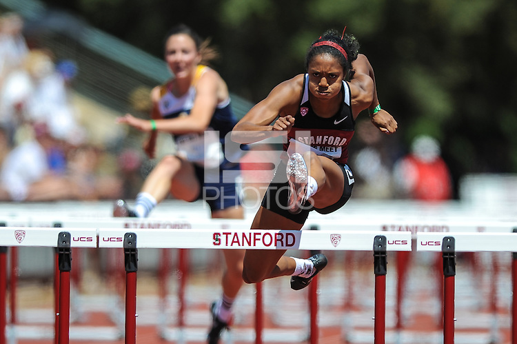 Stanford, CA, April 20, 2013<br /> Stanford Track, The 119th Big Meet, Stanford vs. Cal