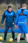 St Johnstone Training&hellip;.31.03.17<br />Manager Tommy Wright pictured training on the astroturf at McDiarmid Park this morning ahead of tomorrow&rsquo;s game at Hamilton.<br />Picture by Graeme Hart.<br />Copyright Perthshire Picture Agency<br />Tel: 01738 623350  Mobile: 07990 594431