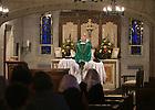 Tridentine Mass in Alumni Hall Chapel