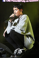 PHILADELPHIA, PA - OCTOBER 28 :  Kehlani performing at Powerhouse 2016 at the Wells Fargo Center in Philadelphia, Pa on October 28, 2016  photo credit Star Shooter/MediaPunch
