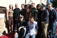 William Petersen with his CSI CoStars  at  the Hollywood Walk of Fame Star Ceremony for WIlliam Petersen in front of Musso's & Franks Resturant in Los Angeles, CA on .February 3, 2009.©2008 Kathy Hutchins / Hutchins Photo..