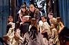 Snow White <br /> Ballet Lorent at Sadlers Wells, London, Great Britain <br /> 25th March 2016 <br /> Rehearsal <br /> <br /> artistic director Viv Lorent MBE <br /> <br /> Caroline Reece as Queen <br /> Natalie Trewinnard as Snow White <br /> Gavin Coward as Huntsman <br /> <br /> <br /> <br /> <br /> Ellie Bailey <br /> Crina Bontu<br /> Shannon Bryant <br /> Georgia Rae Chambers<br /> Andrew De Melo <br /> Paige Farrell <br /> Max Hill <br /> Lenarda Klosi <br /> Eva-Mae Loutsios<br /> Laura Palma-Moya<br /> Alana Quach<br /> Ben Renton <br /> <br /> <br /> Photograph by Elliott Franks <br /> Image licensed to Elliott Franks Photography Services