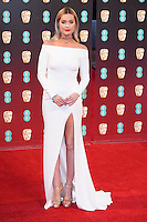 Laura Whitmore at the 2017 EE British Academy Film Awards (BAFTA) held at The Royal Albert Hall, London, UK. <br /> 12 February  2017<br /> Picture: Steve Vas/Featureflash/SilverHub 0208 004 5359 sales@silverhubmedia.com