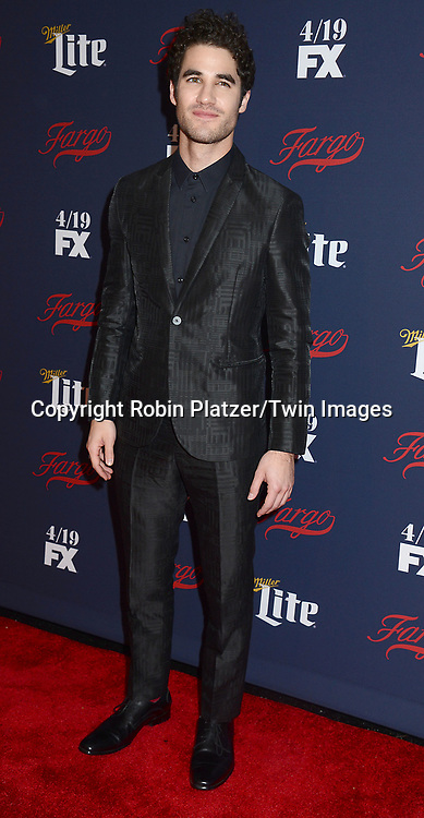 Darren Criss attends FX's 2017 All-Star Upfront on  April 6, 2017 at SVA Theater in New York, New York, USA. <br /> <br /> photo by Robin Platzer/Twin Images<br />  <br /> phone number 212-935-0770