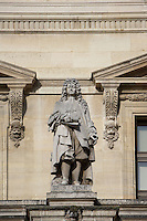 Jean Racine, 1639 - 1699, playwright, poet, master of the classical French tragedy, Louvre Museum, Paris, France Picture by Manuel Cohen