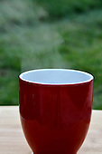 Stock photo of hot beverage outdoors