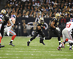 New Orleans Saints Mark Ingram (28) vs. New York Giants at the Superdome in New Orleans, La. on Monday, November 28, 2011. New Orleans won 49-24.