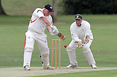 Paul Murray in batting action for Hornchurch - Hornchurch CC (batting) vs Gidea Park & Romford CC - Essex Cricket League - 20/08/11 - MANDATORY CREDIT: Gavin Ellis/TGSPHOTO - Self billing applies where appropriate - 0845 094 6026 - contact@tgsphoto.co.uk - NO UNPAID USE.