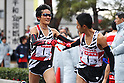 Yoshinori Oda (Toyota), .January 1, 2012 - Athletics : .New Year Ekiden 2012, 56th All Japan Industrial Ekiden Race .Start & Goal at Gunma Prefecture Goverment, Gunma, Japan. .(Photo by Daiju Kitamura/AFLO SPORT) [1045]