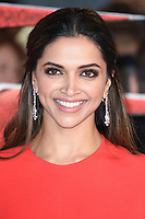 Deepika Padukone at the premiere of &quot;xXx-Return of Xander Cage&quot; at the O2 Cineworld, London, UK. <br /> 10th January  2017<br /> Picture: Steve Vas/Featureflash/SilverHub 0208 004 5359 sales@silverhubmedia.com
