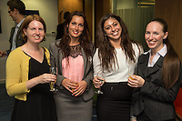 From left are Suzie Orton of Browne Jacobsen, Katie Smith of Potter Clarkson, Amy Ellis of Vision Express and Kathryn Baguley