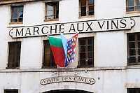 wine shop marche aux vins beaune cote de beaune burgundy france