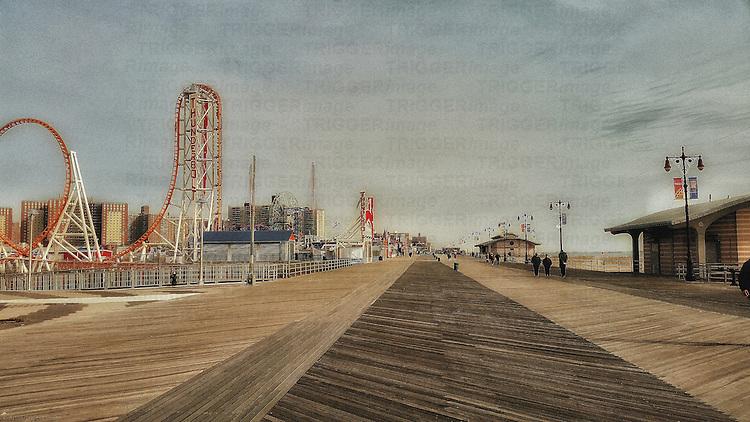 Coney Island walkway
