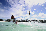 Photographs of Kitesurfing