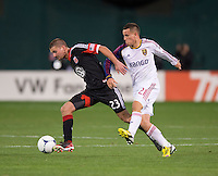 Perry Kitchen, Luis Gil.  D.C. United defeated Real Salt Lake, 1-0, at RFK Stadium.