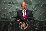 Address by His Excellency Michel Joseph Martelly, President of the Republic of Haiti <br /> General Assembly 70th session 22nd plenary meeting<br /> Continuation of the General Debate