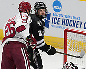 Jacob Olson (Harvard - 26), Brian Pinho (PC - 26) - The Harvard University Crimson defeated the Providence College Friars 3-0 in their NCAA East regional semi-final on Friday, March 24, 2017, at Dunkin' Donuts Center in Providence, Rhode Island.