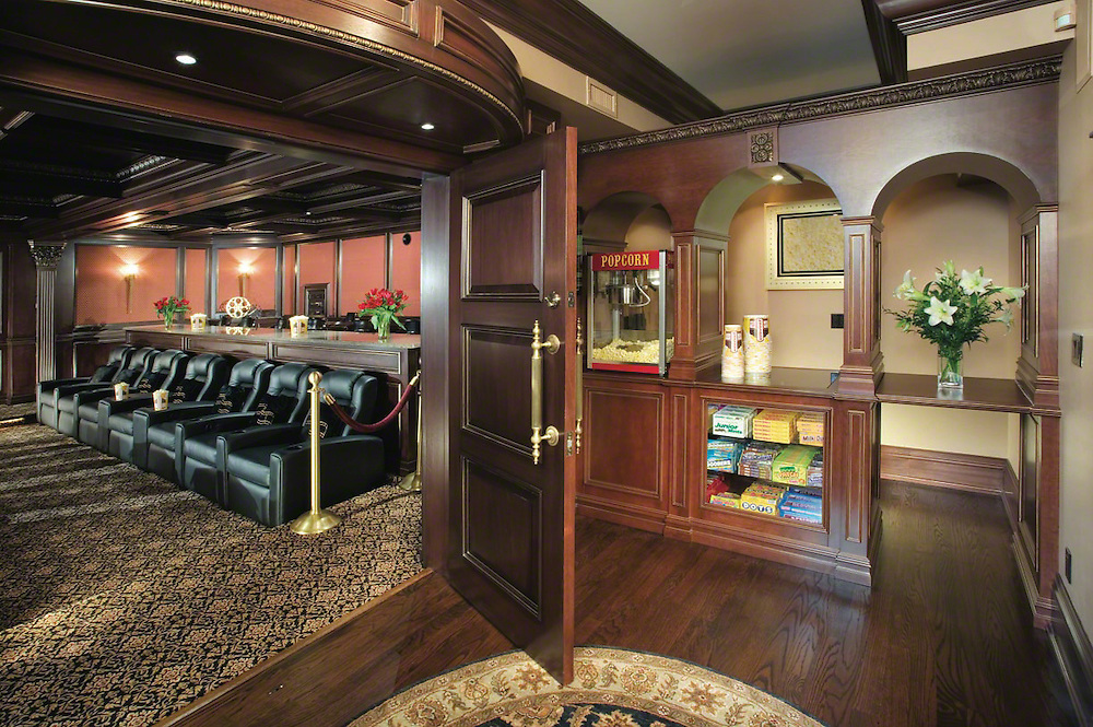 Extensive Home Theater With Concession Stand EDGonline
