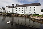 Laphroaig malt whisky distillery, Islay, Scotland.