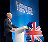 Conservative Party Annual Conference, Manchester, Great Britain <br /> 2nd - 5th October 2011 <br /> <br /> The Right Honourable<br /> William Hague <br /> MP<br /> First Secretary of State<br /> Secretary of State for Foreign and Commonwealth Affairs<br /> <br /> Photograph by Elliott Franks