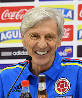 Jose Pekerman, Rueda Prensa / Press Conference, 10-10-2016