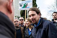 Navantia workers protest in Madrid