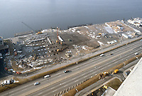 1982 January 20..Redevelopment.Downtown South (R-9)..WATERSIDE.CONSTRUCTION PROGRESS...NEG#.NRHA#..