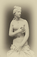 A statue of Aphrodite in Athens, Greece