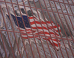 The United States Flag as reflected in a Downtown Minneapolis Building