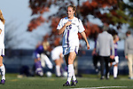 21 October 2012: Northwestern's Bri Westlund. The Northwestern University Wildcats played the University of Iowa Hawkeyes at Lakeside Field in Evanston, Illinois in a 2012 NCAA Division I Women's Soccer game. Northwestern won the game 1-0.