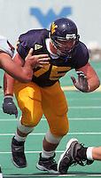 WVU offensive guard Brad Knell, September 2, 2000