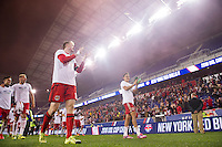 HARRISON, NJ - Sunday October 23, 2016: New York Red Bulls II takes on the Swope Park Rangers at home at Red Bull Arena in the United Soccer League (USL) Final.