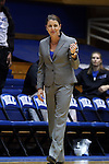 17 December 2014: Duke head coach Joanne P. McCallie. The Duke University Blue Devils hosted the University of Oklahoma Sooners at Cameron Indoor Stadium in Durham, North Carolina in a 2014-15 NCAA Division I Women's Basketball game. Duke won the game 92-72.