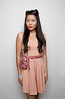 Nikki Malvar is pictured at The 2012 Historic Houses Trust of NSW annual Fifties Fair at Rose Seidler House, Sydney. Picture James Horan