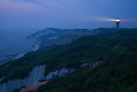 Massachusetts, Martha's Vineyard, Gay Head Lighthouse, Aquinnah Cliffs