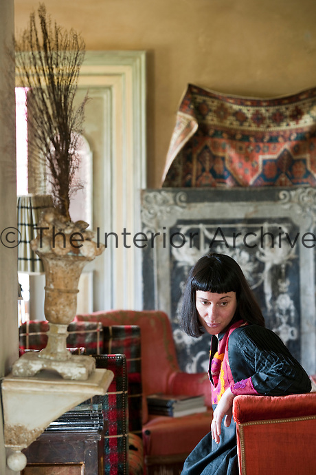 Creative chef Maddalena Caruso in her dining room