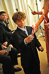 Hebrew Wizards Bat Mitzvahs and Bar Mitzvahs end with a candle lighting for all the children.