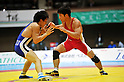 (L to R) Syota Tanokura, Kohei Hasegawa, DECEMBER 21, 2011 - Wrestling : All Japan Wrestling Championship Men's Greco-Roman Style -55kg Final at 2nd Yoyogi Gymnasium, Tokyo, Japan. (Photo by Jun Tsukida/AFLO SPORT) [0003]