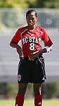 NC State's Nicole Mayo on Sunday, October 1st, 2006 at Koskinen Stadium in Durham, North Carolina. The Duke Blue Devils defeated the North Carolina State University Wolfpack 3-0 in an Atlantic Coast Conference NCAA Division I Women's Soccer game.