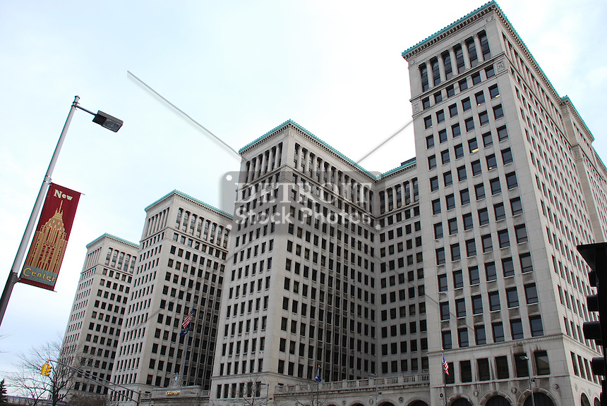 Originally the general motors building it had housed the for General motors cadillac headquarters