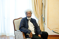 2010, Parma Poesia, Wole Soyinka, writer nigerian, poet and playwright. He won the Nobel Prize in literature 1986;  © Leonardo Cendamo